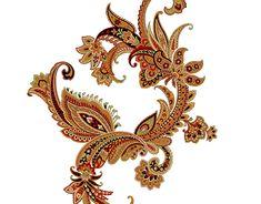 Egypt Jewelry, Paisley Wallpaper, Bindi, Border Design, Pattern Art, Iran, Art Work, Cross Stitch, Behance
