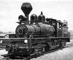 Long-Bell's Shay locomotive
