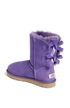 Ugg Bailey Bow Boots: Available in sizes for kids and women, depending on how big her feet are, Ugg's Bailey Bow boots ($120-$205) are prettied up with matching bows. Available in a range of colors, including pink, purple, light blue, navy, and black.
