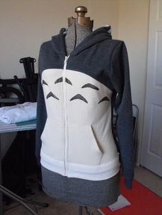 Totoro hoodie I. Must. Have.
