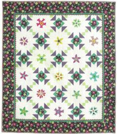 Free Quilt Pattern: It's a Sunshine Day - I Sew Free