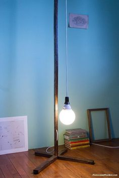 simple diy lamp proj