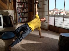 """Kettlebell Workout with creativeLIVE instructor Tim Ferriss, best-selling author of """"The 4-Hour™ Workweek"""" http://cr8.lv/TimFerrissPC1"""
