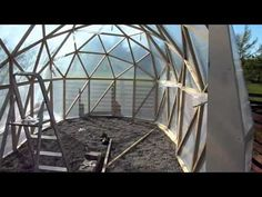 tunnel dome build part 3 - like the shape, good for enlongated site