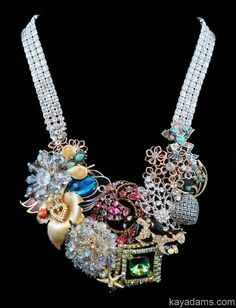 Kay Adams, statement necklace  Anthill Antiques, Jewelry and Chandelier Heaven