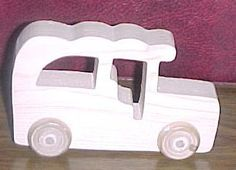 Handcrafted Wood Toy Car 27AH-U unfinished or finished by VMWoodFactree for $1.85