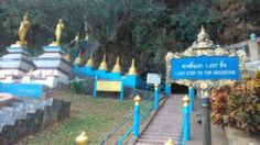 Tiger Cave Temple (Wat Tham Sua): Stairs to mountain top at Wat Tham Sua