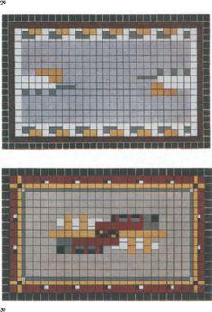 nieuwe zakelijkheid | jaren 30 tegelvloer | ongeveer 170x270 | keukenvloer | badkamervloer | entree