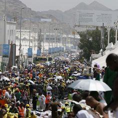 Centenas de pessoas morreram na cidade de Mina, durante peregrinação à Meca (Foto: AP)