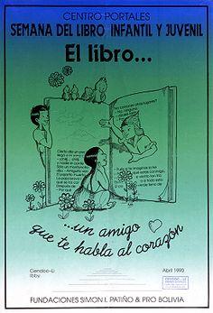 El Libro un amigo que te habla al corazón / Semana del libro infantil y juvenil, abril 1990 (1990)