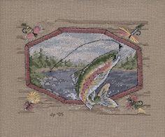 Crafty Cross Stitch: Fishing