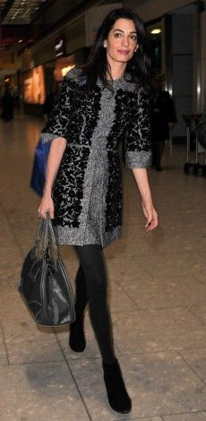 Η AMAL ALAMUDDIN CLOONEY ΜΕ DOLCE & GABBANA.  http://www.instyle.gr/look-of-the-day/