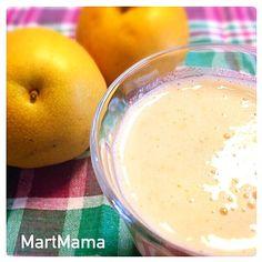 一人スムージー(´・Д・)」 - 114件のもぐもぐ - 梨とバナナの豆乳スムージー by MartMama