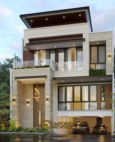 House Arch Design, 3 Storey House Design, Bungalow House Design, Small House Design, Floor Design, Modern House Facades, Modern Exterior House Designs, Dream House Exterior, Indian House Exterior Design