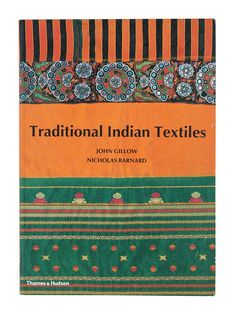 Traditional Indian Textiles by John Gillow and Nicholas Bardnard [Paper Back] Textile Patterns, Textile Design, Textile Art, Print Patterns, Crafts To Make, Arts And Crafts, Global Decor, African Textiles, Victoria