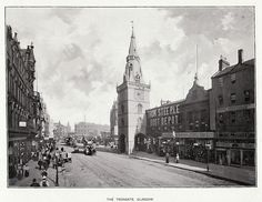 Glasgow - The Trongate in the 1890s