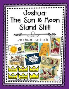 Joshua: The Sun & Moon Stand Still Lesson & Visuals