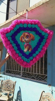 Paw Patrol Pinata, Girl Paw Patrol Party, Sky Paw Patrol, Paw Patrol Birthday Girl, Girls 3rd Birthday, Paw Patrol Party Decorations, Birthday Pinata, Animal Birthday, Baby