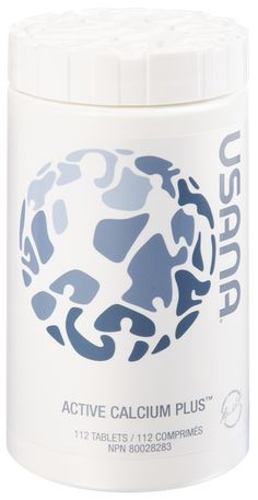 Active Calcium (112 tablets) 1. Provides balanced levels of Calcium, Magnesium, and Vitamin D in truly bio-available forms. 2. Supports healthy bones and muscle function, formation and strength 3. Made up of Calcium Carbonate and Calcium Citrate which has very high bioavailability. https://wiseandwell.usana.com/