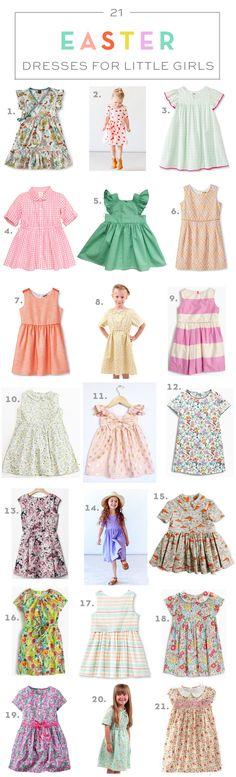 21 Easter Dresses for Little Girls // via armelleblog.com