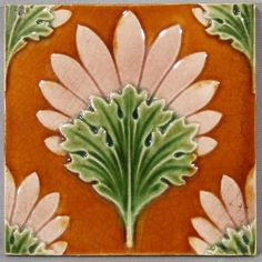 English Arts and Crafts Tile