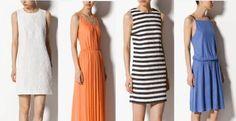 Tendencias en vestidos de verano 2013 en Massimo Dutti