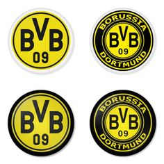"BORUSSIA DORTMUND Football Club 1.75"" Badges Pinbacks, Mirror, Magnet, Bottle Opener Keychain http://www.amazon.com/gp/product/B00K3U2CKI"
