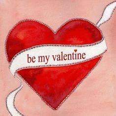 ♥Kaartje2go - Valentijnskaarten - Be my valentine