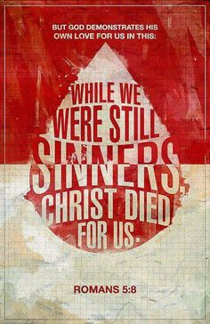 Christ died. For us