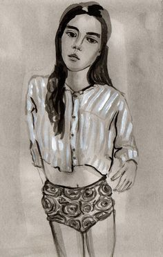 """from the """"Girls"""" series by Leah Reena Goren"""