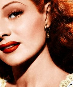 old hollywood glamour rita hayworth color - Google Search