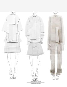 Fashion Sketchbook - mixed media fashion illustrations; fashion portfolio // Andrea Jiapei Li