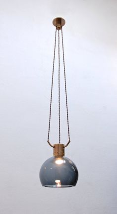 Seguso Attributed Pendant | From a unique collection of antique and modern chandeliers and pendants at https://www.1stdibs.com/furniture/lighting/chandeliers-pendant-lights/