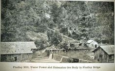 Findley ridge complex about 1896