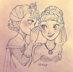 Anna and Elsa | Disney's Frozen