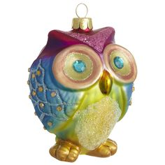 Merry Masquerade: Pier 1 Owl Ornament