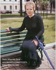 Костюм крючком: жакет и юбка. Обсуждение на LiveInternet - Российский Сервис Онлайн-Дневников