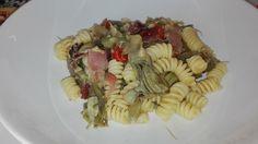 Una ricetta semplicissima, per esaltare i carciofi, un piatto leggero e saporito