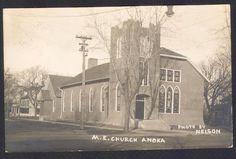Anoka-MN-1914-M.E. Church-Real Photo Postcard | eBay