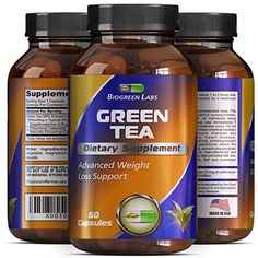 Weight Loss Supplement with Green Tea EGCg With Polyphenols and Antioxidants - Boosts Metabolism and Burns Fat - Pure Natural Capsules For Men and Women By Biogreen Labs - 500 mg * Find out more about the great product at the image link. Fat Burning Supplements, Anti Aging Supplements, Weight Loss Supplements, Natural Supplements, Reduce Weight, Lose Weight, Most Effective Diet, Bacterial Vaginosis, Best Weight Loss Supplement