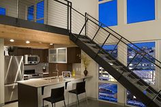I absolutely love everything about this picture. A condo. in Seattle.