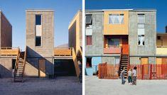 Quinta Monroy social housing by Alejandro Aravena in Chile.