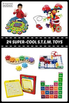 24 of The BEST STEM Toys for Kids - Fun Finds for Science, Technology, Engineering, and Math Learning - B-Inspired Mama