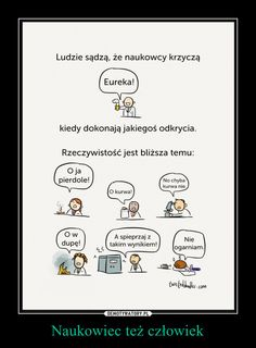 Naukowiec też człowiek – Dead Memes, Bts Memes, Funny Memes, Hilarious, Jokes, Polish Memes, Life Humor, The Funny, Quotations