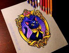 Luna Portrait - Commission by 16Shokushu.deviantart.com on @deviantART