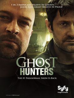 """Hey, quiet! Listen… Can you hear that? It was like a voice, and it was coming through the phone and it was saying… """"Syfy has renewed Ghost Hunters for an eighth season!"""" The…"""