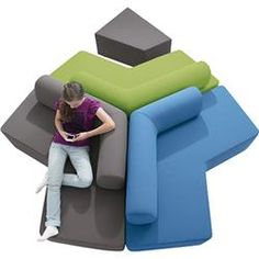 Gressco Haba® Boomerang Lounge Sofa