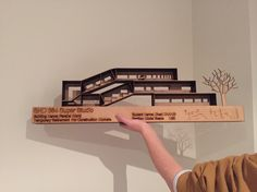 Section model Construction Worker, Modern Architecture, Graduation, Core, Models, Manga, Projects, Inspiration, Drawing Drawing