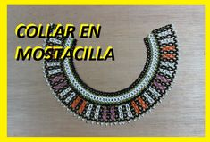Como hacer un collar en mostacilla 6 - YouTube Seed Bead Necklace, Seed Bead Jewelry, Seed Beads, Beaded Jewelry, Beaded Necklace, Beading Tutorials, Beading Patterns, Native American Beading, Brick Stitch