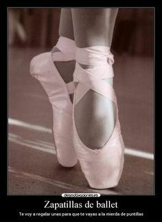 Carteles y Desmotivaciones de aldarabutterfly ballet fuckyou - Learn to dance at BalletForAdults.com!